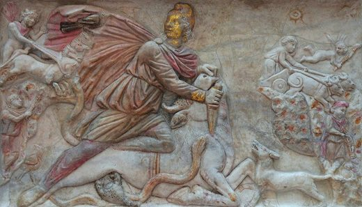 Each tauroctony shows Mithras slaying the sacred bull.