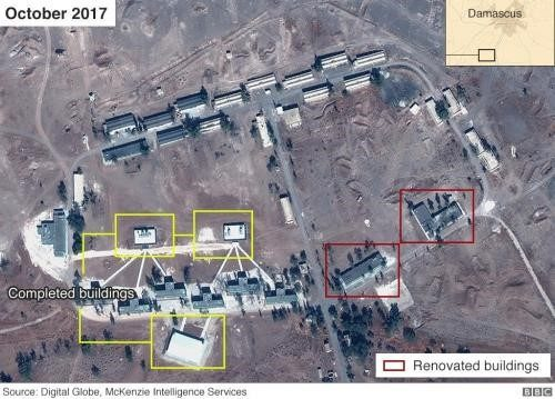 Israeli media and politicians are currently using BBC published satellite images as