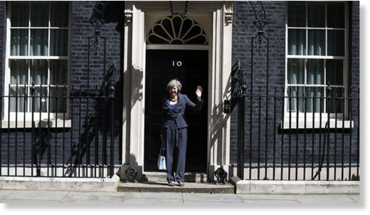Theresa May 10 downing street