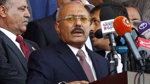 Ali Abdullah Saleh became an ally of the Houthis after Yemen's civil war began in 2015