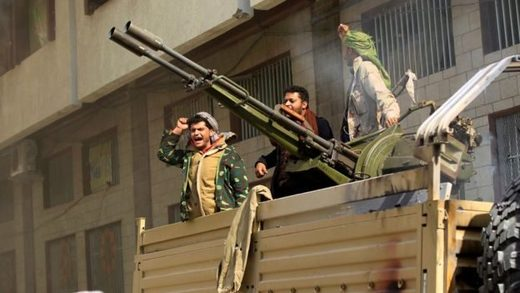 Houthi fighters attacked and took control of Mr Saleh's home in central Sanaa on Monday