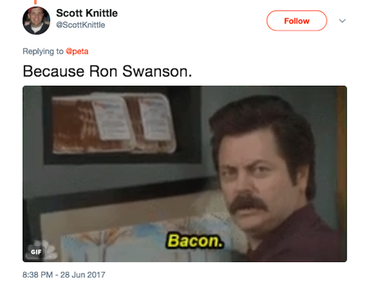 Bacon tweet