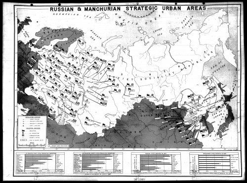 1945 Russian urban areas