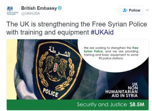 British Embassy Wants You