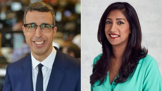 Kamal Ahmed and Tina Daheley will help mentor students