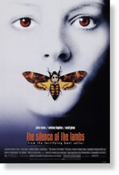 silence lambs movie poster