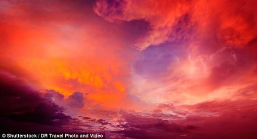 Blood red sky that lasted 9 days: Mysterious hue seen over Far East Asia in 1770 was caused by biggest solar storm ever recorded