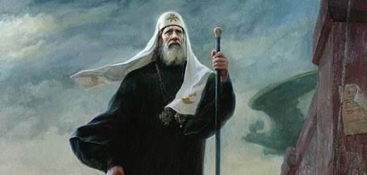 Patriarch Tikhon was head of the Russian church during the revolution,