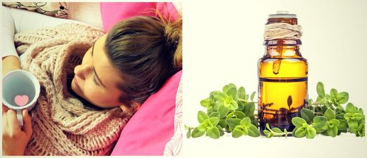 essential oils colds