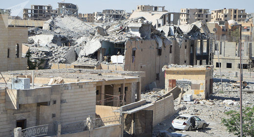 Russian MoD: US-Led Coalition Destroyed Syrian Cities With Carpet Bombings