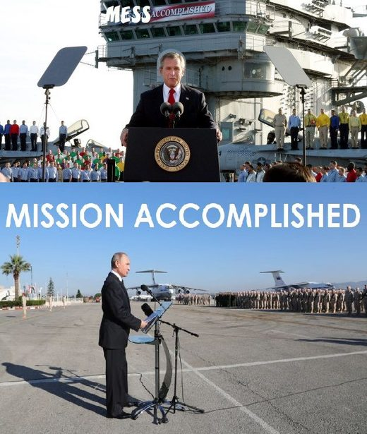 putin mission accomplished