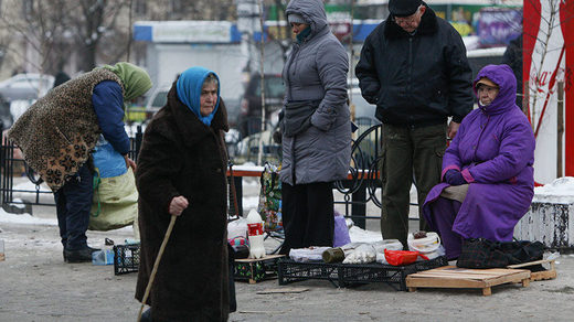 Ukraine is now the poorest country in Europe with average monthly wage of just $220 per month