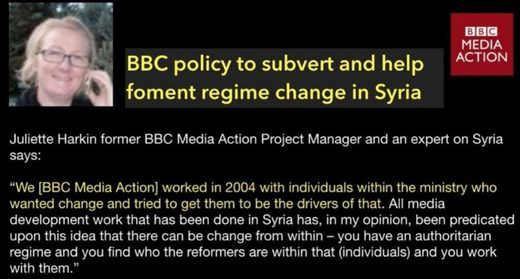 BBC media action Syria