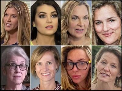 Eight Trump accusers