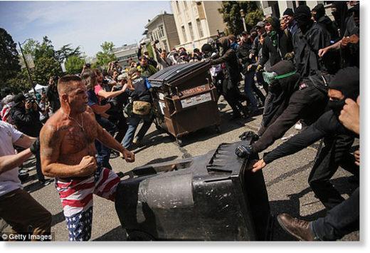 Antifa- clashes