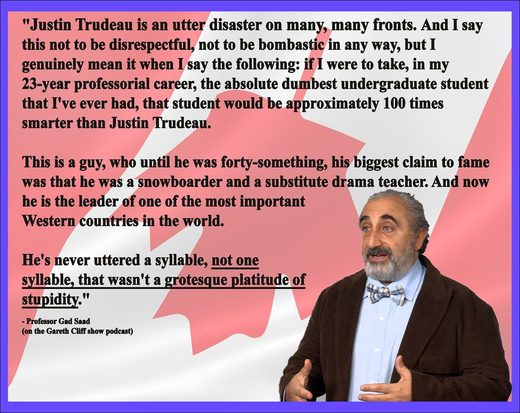 Gad Saad quote