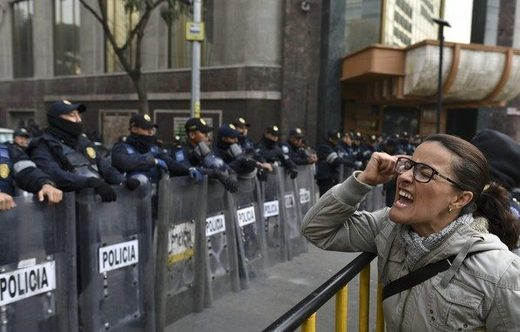 Mexico demonstration security law