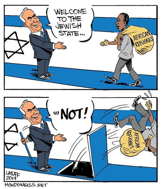 Israel political cartoon