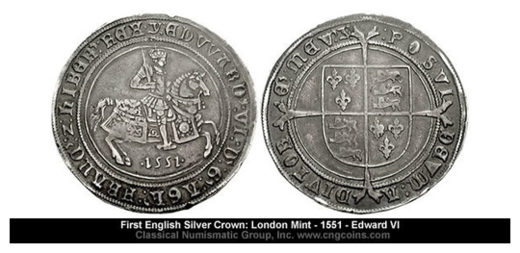 First English Silver Crown