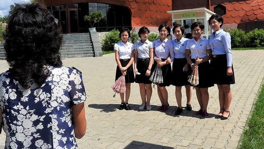 North Korea civilian Eva Bartlett