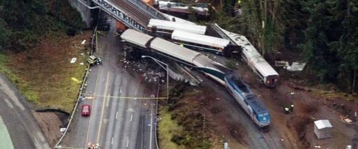 Amtrak derailment washington state