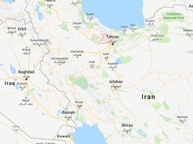 Tehran earthquake magnitude 52 tremor strikes near irans capital iran earthquake map dec 2017 gumiabroncs Image collections