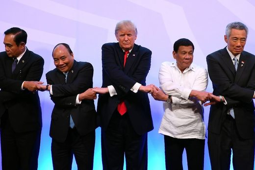 Trump Indo-Pacific Duterte