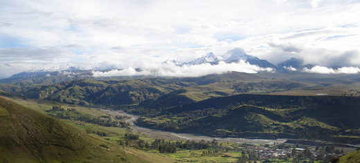 Santa Valley in Peru