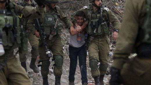 idf palestinian boy