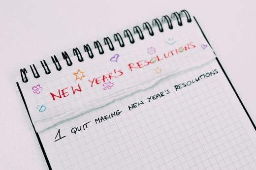 Quit New year resolution