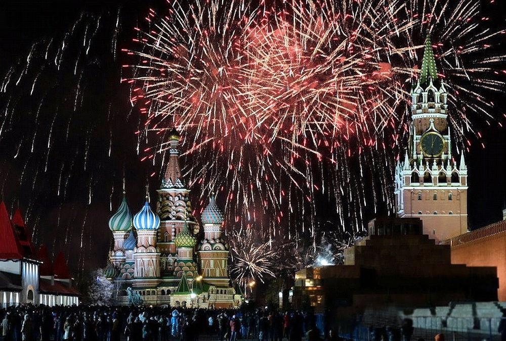 Картинки как отмечают новый год в россии