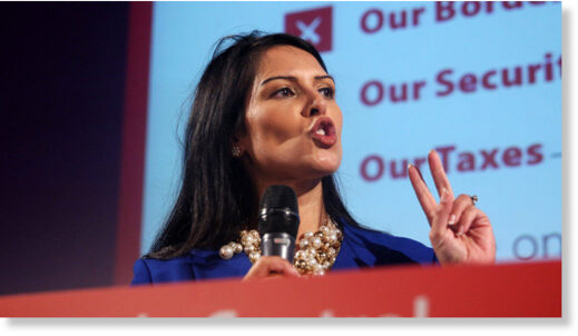 Priti Patel wants an investigation into Remain campaign spending