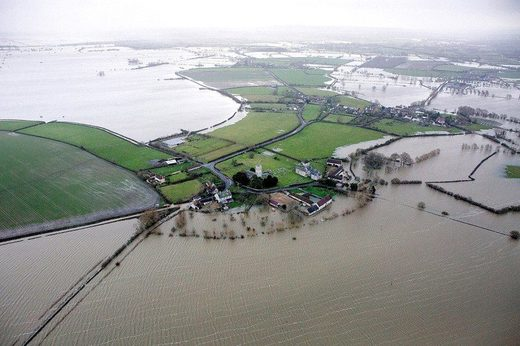 flooded english island