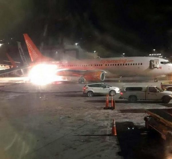 Toronto: Plane wing catches fire after two-jet collision at