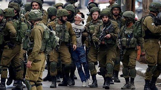 Israel detains chidren