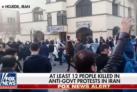 Hojedk Iran protests Fox News