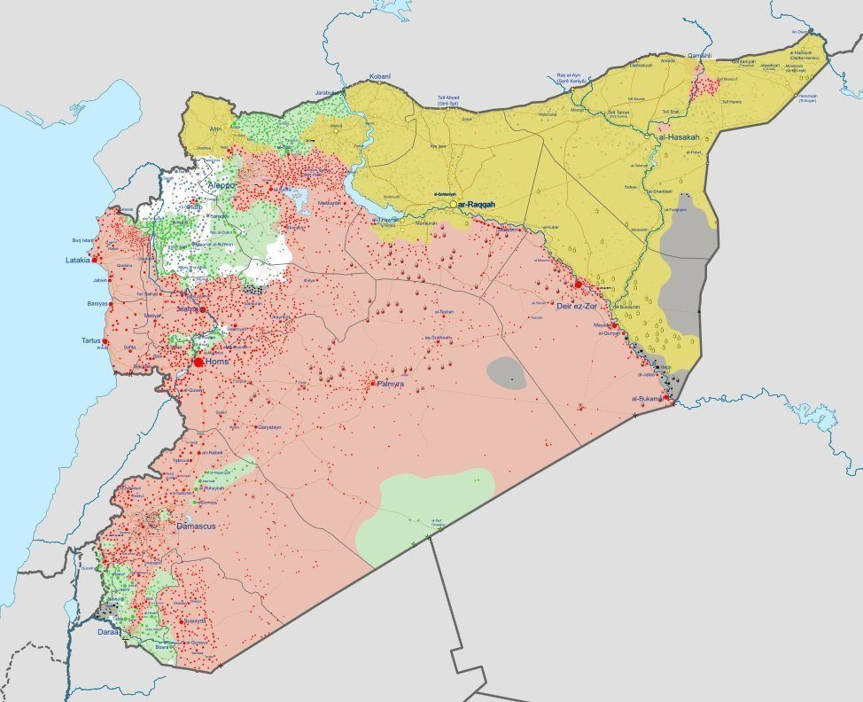Us Reportedly Plans To Recognize Kurdish Area In Syria 3x