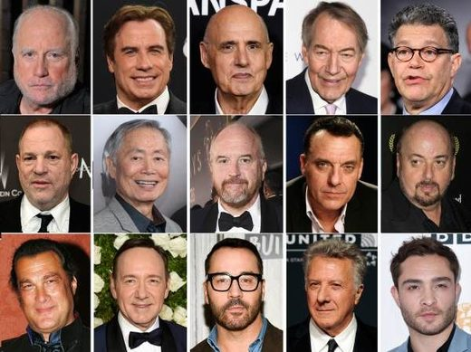 Hollywood accused abusers