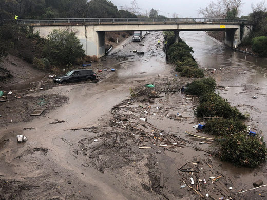 mudslide california