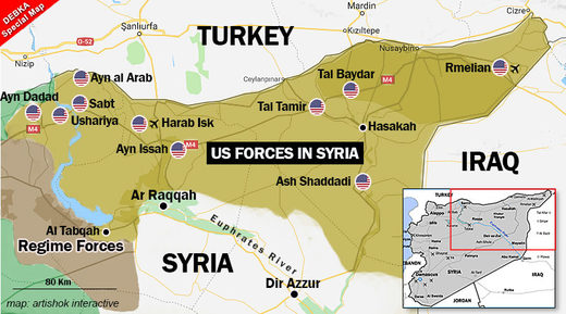 American bases Syria