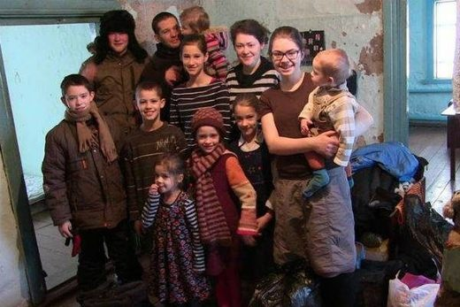 german family who emigrated to russia