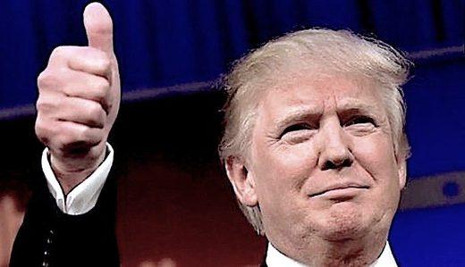 Trump thumbup