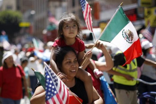 Mexican-American mother and child
