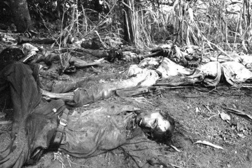Victims of the El Mozote Massacre