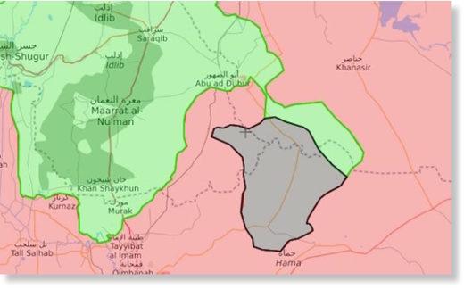 Syrian army in Idlib