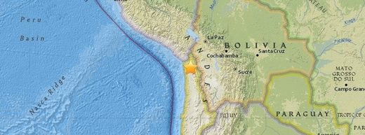 Chile earthquake