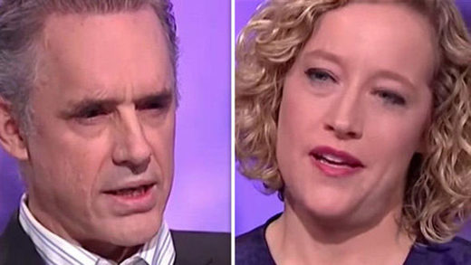 Jordan Peterson and Cathy Newman