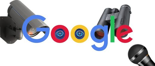 Google thought police surveillance