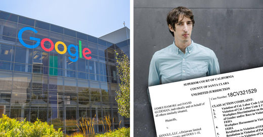 Damore Lawsuit Exposes Extremist Ideology And Social Intolerance at Google