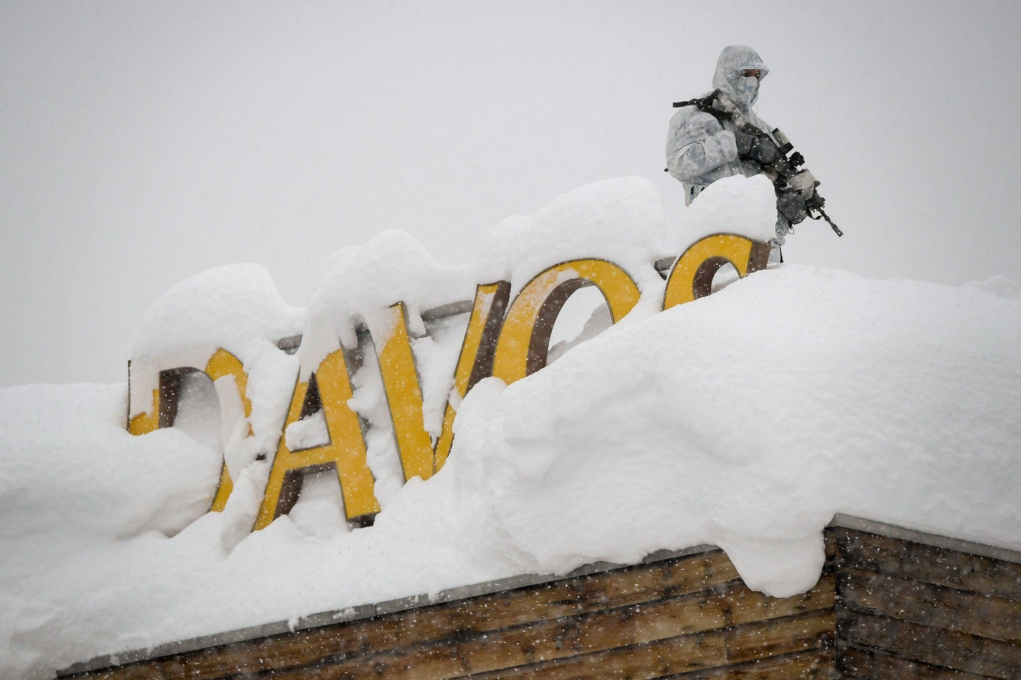 davos climate change fears